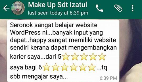testimoni-kursus-wordpress-cms-popular-income-online-internet-marketing